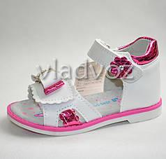 Детские босоножки сандалии для девочки розовые Jong Golf 21р.