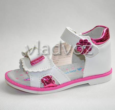 Детские босоножки сандалии для девочки розовые Jong Golf 21р., фото 2