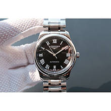 Longines Masters Collection Steel-Black