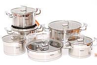 Набор посуды Hoffner 9977 12 элементов Original