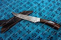 Нож охотничий ручной работы с гравировкой ,кожаный чехол