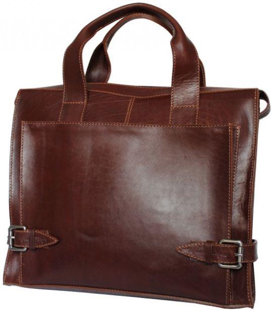 0fefb61b9fc2 Кожаная сумка Crossbody Mykhail Ikhtyar, Ikhtyar-6750 коричневый, цена 3  694 грн., купить в Киеве — Prom.ua (ID#518182300)