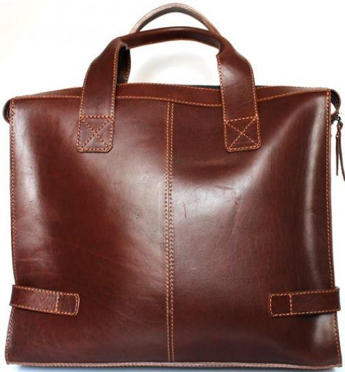 a31d268eb74d Кожаная сумка Crossbody Mykhail Ikhtyar, Ikhtyar-6750 коричневый - SUPERSUMKA  интернет магазин в Киеве