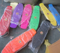 Скейт BT-YSB-0021 пластик.PU колеса 62*19см 1,90кг 8цв.ш.к./8/