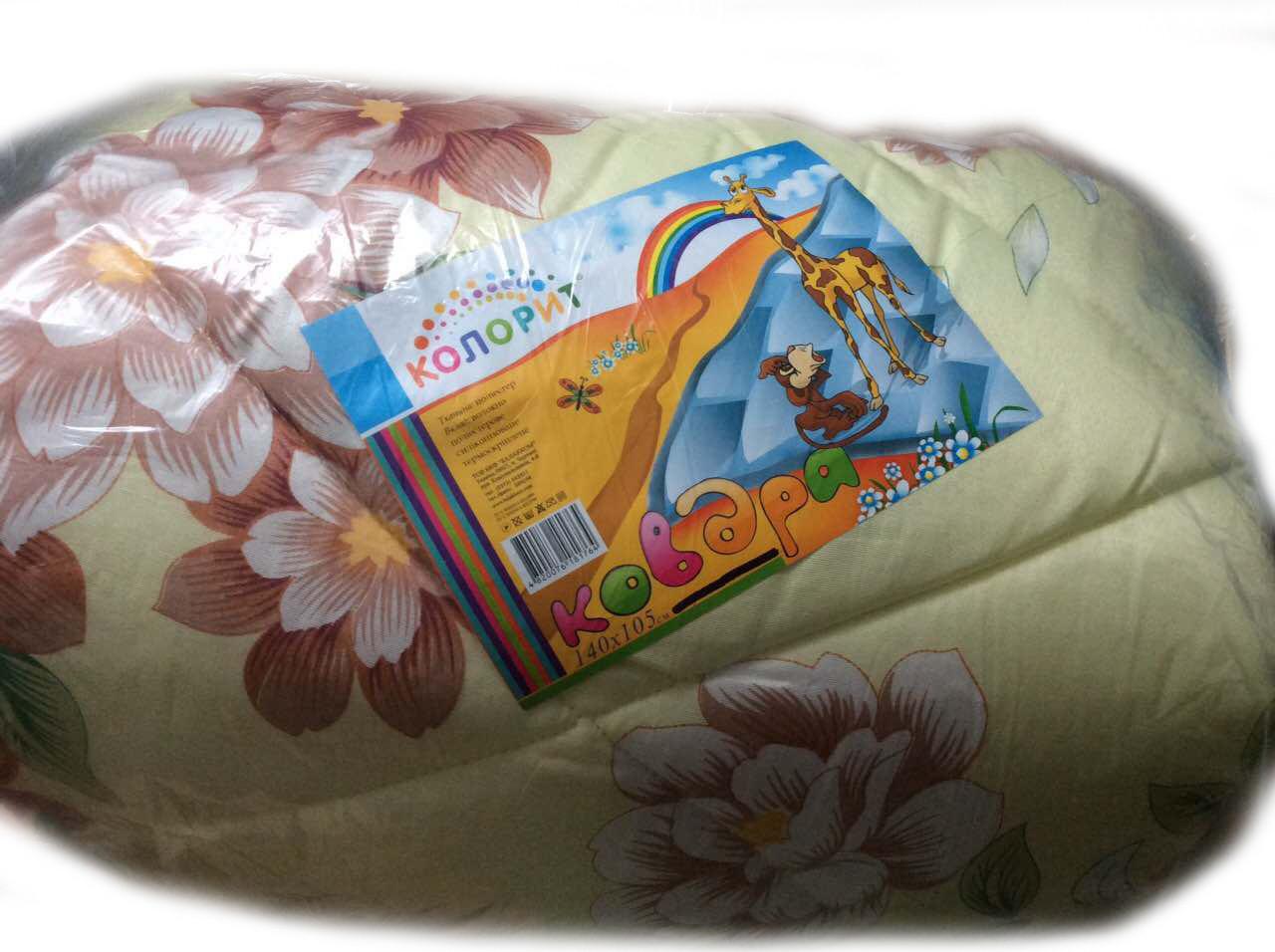 Детское одеяло КОЛОРИТ (синтепон) 105*140