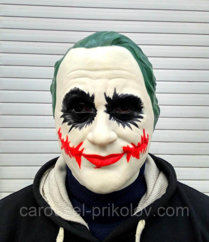 Маска Джокер на Хэллоуин