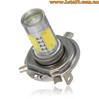 H4 5 COB LED 6000K лампы - альтернатива ДХО и ксенону!