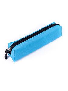 Пенал для школы Surikat Rondo голубой (пенал косметичка, чехол, школьный пенал)