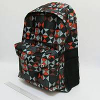 """Рюкзак DSCN0598-B с карманом """"Геометрия"""" 42х30х13см"""