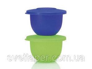 Чаші Чарівність 500мл 2шт синя салатова Tupperware