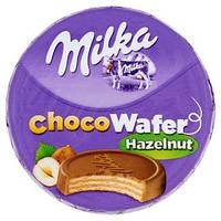 Шоколадные  вафли Milka Nut, 30 гр