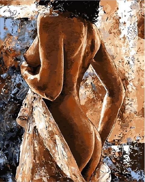 Картины по номерам 40×50 см. Женственность Художник Эмерико Имре Тот