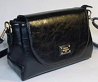 Стильный женский клатч через плечо Velina Fabbiano черного цвета