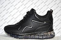 Кроссовки женские модные черные