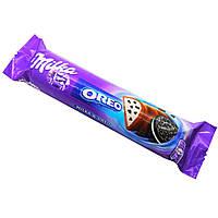 Шоколадный батончик  Milka & Oreo Baton , 41 гр
