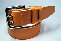Ремень мужской кожаный 45мм. Ремень из цельной кожи.