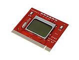 Пост карта post card диагностическая PC LCD экран ЛСД с текстовым оповещением, фото 2