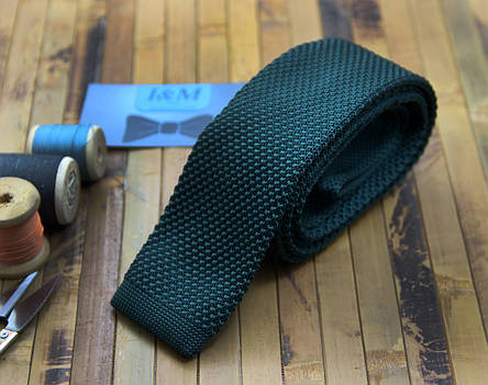 Вязаный галстук D.Green (020201), фото 2