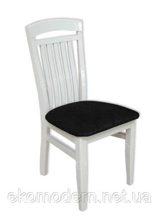 Стул деревянный ДЖЕРСИ+ в белом цвете или цвете слоновой кости для дома,кафе и ресторана