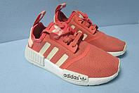 Женские кроссовки Adidas (8007) коралловые код 0541А