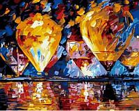 Живопись по номерам 40×50 см. Воздушные шары Художник Афремов Леонид