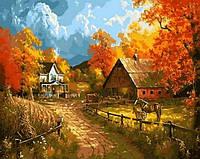 Картины по номерам 40×50 см. Сельский пейзаж Художник Abraham Hunter, фото 1