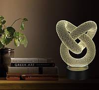 """LED ночник / светильник """"Иллюзия"""". Меняет 7 цветов"""