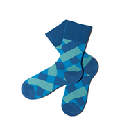 Mens Diamond cross Socks