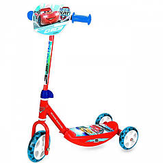 Дитячий самокат триколісний Smoby Ice Cars 750105