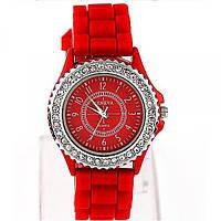 Наручные часы Geneva DeLuxe красные