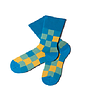Mens square Design Socks