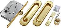 Ручки купе с межкомнатным замком SIBA  - S223 - золото