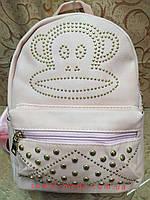 Рюкзак для девочек обезьяна стильный Экокожа(только ОПТ)/Рюкзак женский