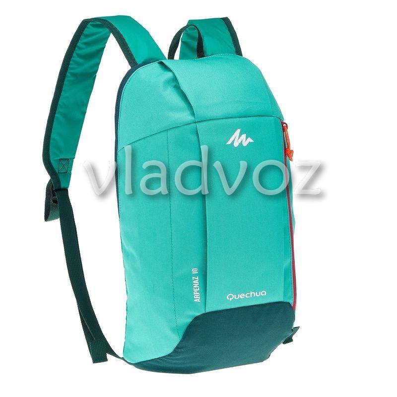 Городской, спортивный рюкзак Arpenaz 10L мятно зелёный