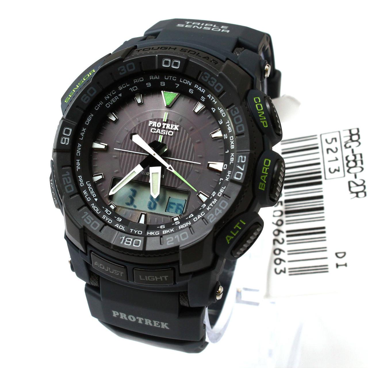 Часы Casio Pro-Trek PRG550-2CR