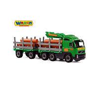 Aвтомобиль лесовоз с прицепом Volvo Wader 8725