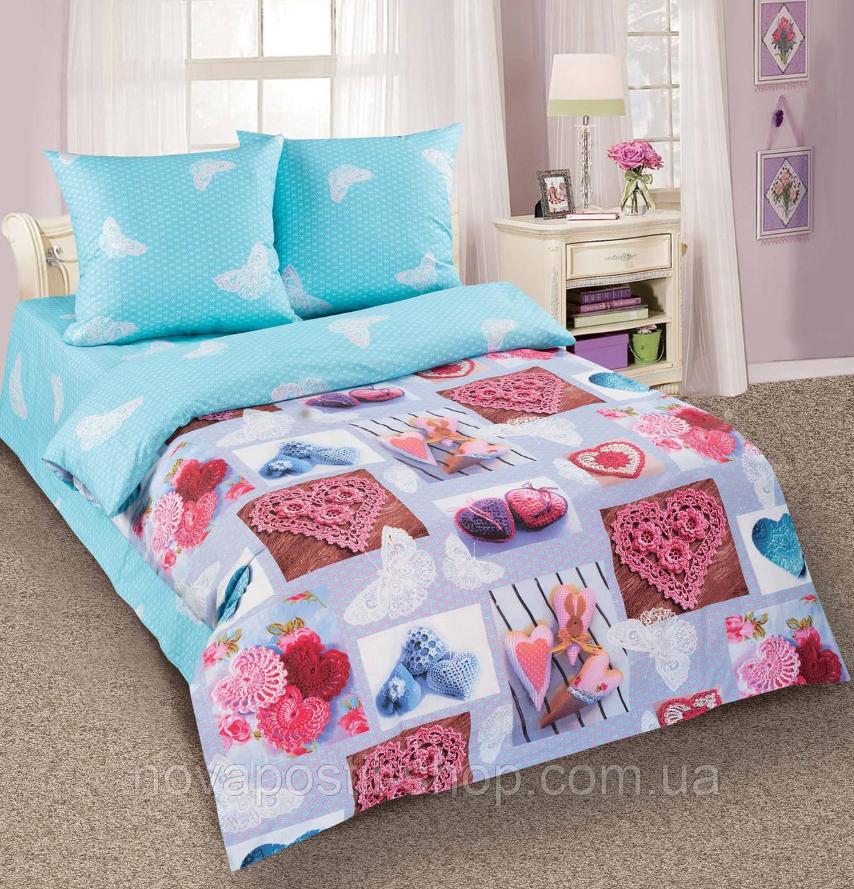 Комплект постельного белья Ажур подростковый
