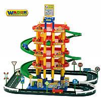 Паркинг 5-ур. с дорогой и три автомобиля Wader 38104