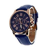 Наручные часы Geneva platinum синие