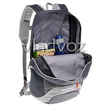 Городской, спортивный рюкзак Arpenaz 20L черный с серым, фото 3