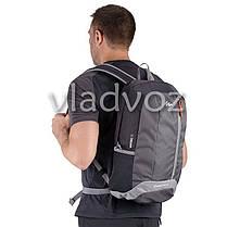 Городской, спортивный рюкзак Arpenaz 20L черный с серым, фото 2