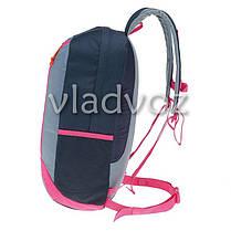 Городской, спортивный рюкзак Arpenaz 20L серый с розовым, фото 2