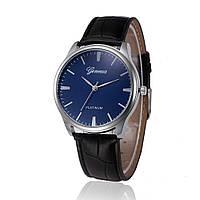 Наручные часы Geneva с синим циферблатом
