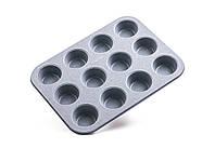 Форма для выпекания кексов Con Brio CB-506 35x26x3см толщина 0.4мм