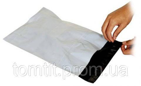Полиэтиленовые почтовые и курьерские пакеты конверты, формат А4 (240х320 мм) --- 10 шт., фото 2