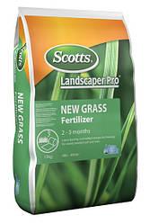 Удобрение для закладки газона Landscaper Pro New Grass 2-3 мес 15 кг 20+20+8