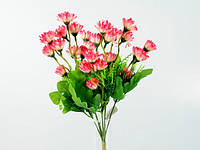 Букет / Василек / 0,35 м / 21 цветков / Розовый 33x15x15 см