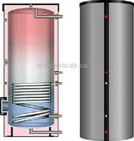 Бойлер косвенного нагрева из нержавеющей стали Meibes HBS 150 (серебряный)
