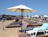 """Зонт круглый """"Палладиум""""-ø 2.5 m, для кафе и пляжа"""
