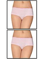 Набор женских трусов мини шорт - 2 шт. (Розовый)